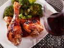 Рецепта Печени пилешки бутчета на грил